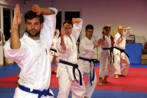 eine karateschule in magdeburg